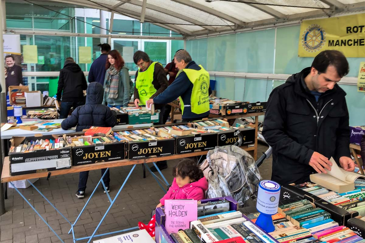 Book Giving at Asda -