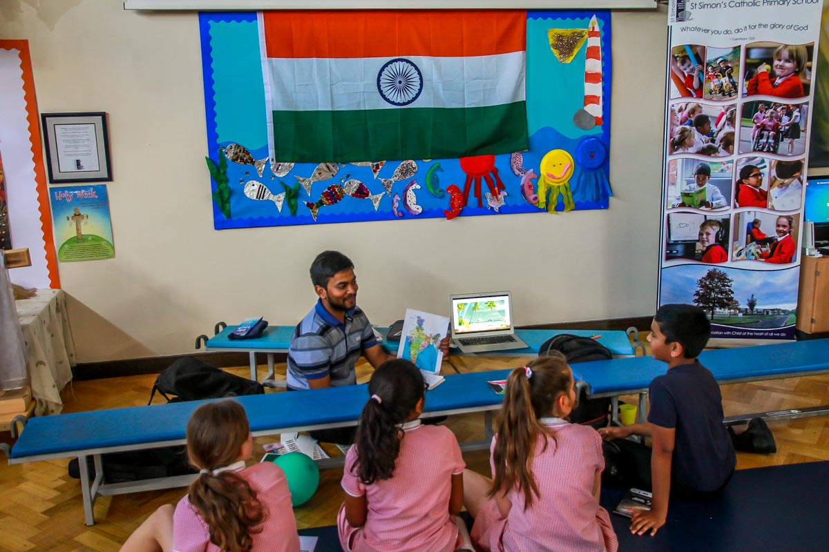 RocketWorld international learning project - Learning about India