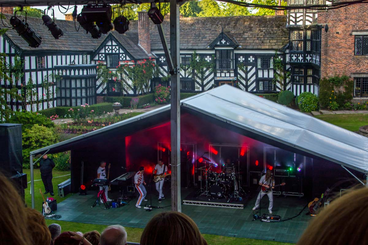 One Night of Queen at Gawsworth - Rocking with Rotary!