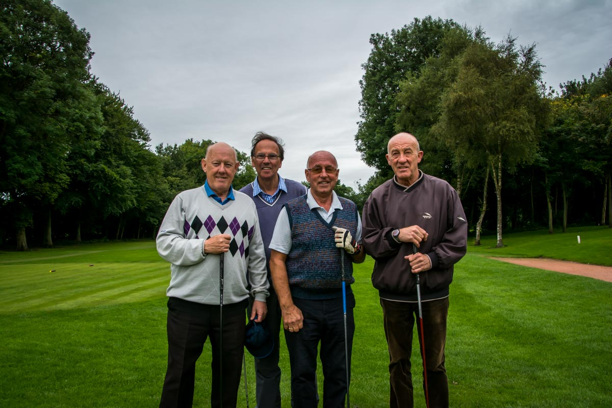 Charity Golf Day - David's Team