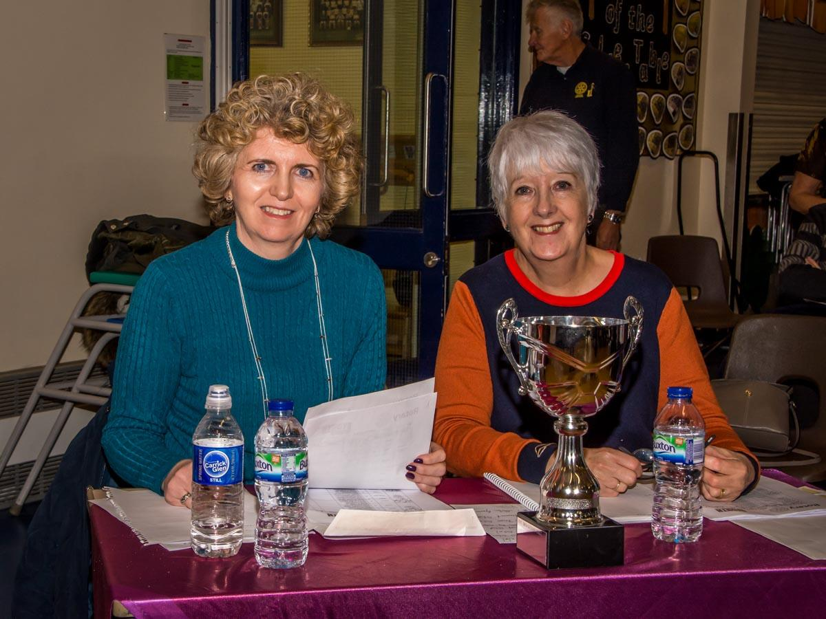 Youth Speaks 2018 - The judges, Claire Tunnicliffe and Marilyn Gregory.