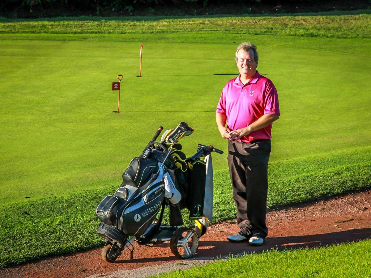 Charity Golf Competition - Mark Patton