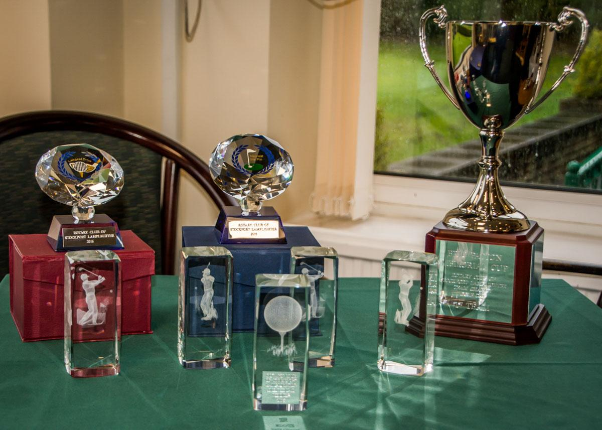 Charity Golf Competition - Trophies