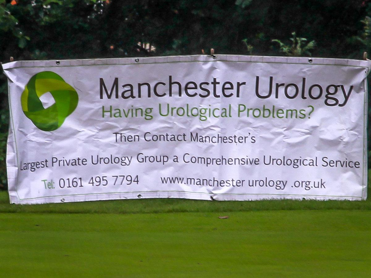 Charity Golf Competition - Main sponsor's banner