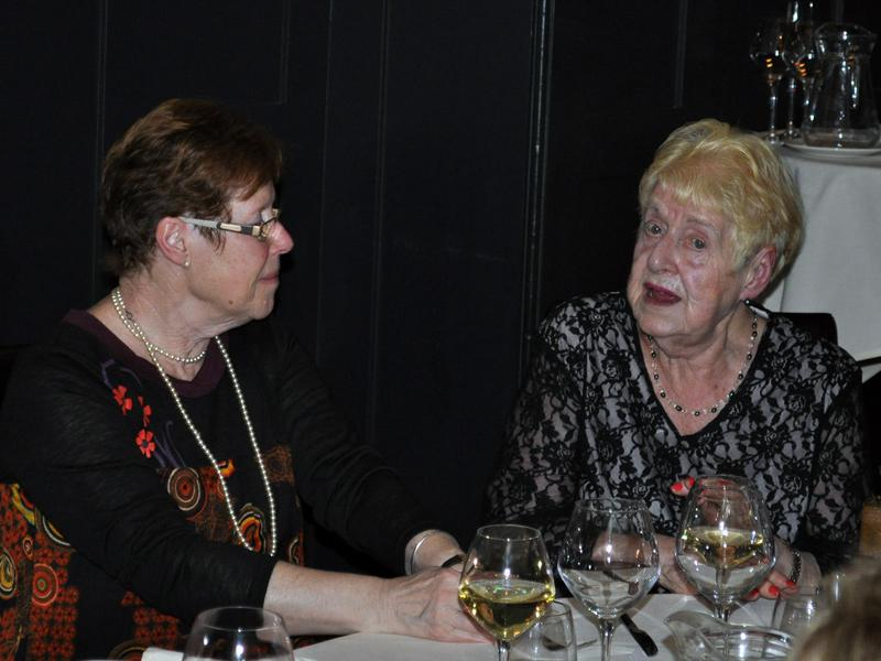 Christmas Dinner - Janet and Joan.