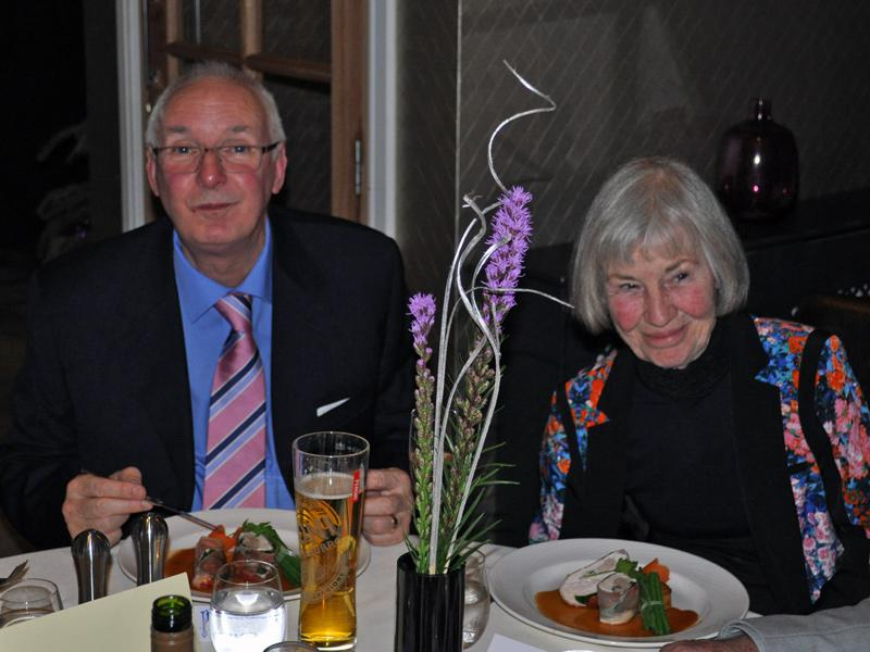 Christmas Dinner - Bill and Mary.