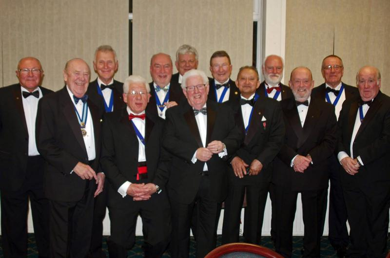 Charter Night - Founder members.