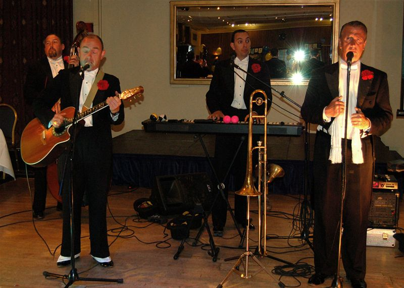 25th Anniversary Charter Celebration - The band were absolutely spiffing.
