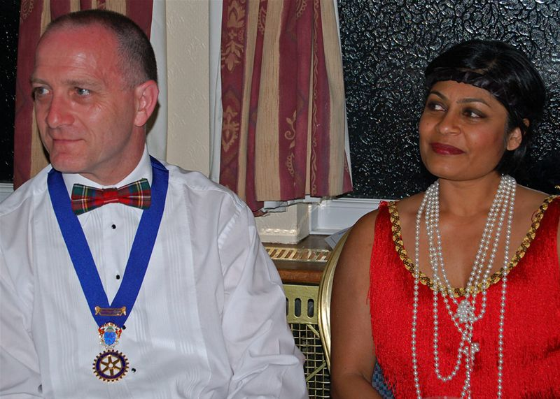 25th Anniversary Charter Celebration - Ron and Tasneem