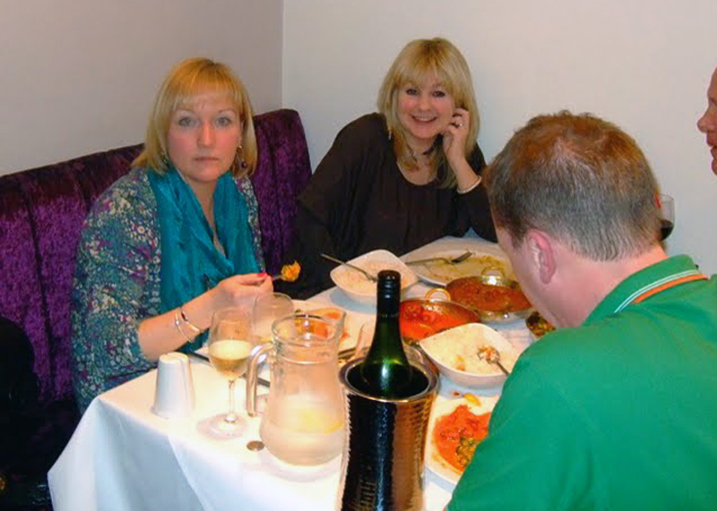 Charity Curry Night -