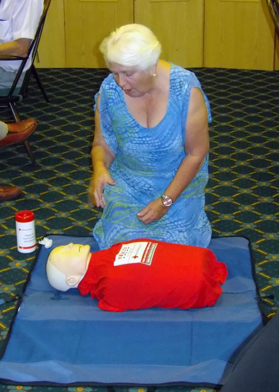Speaker Evening - Annie, the resuscitation doll
