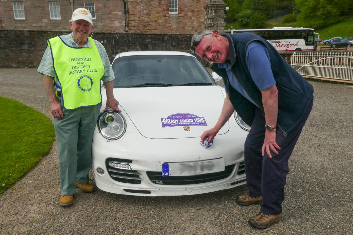 Rotary Purple4Polio Motor Tour of Britain. - RCThornhill - 1070668-