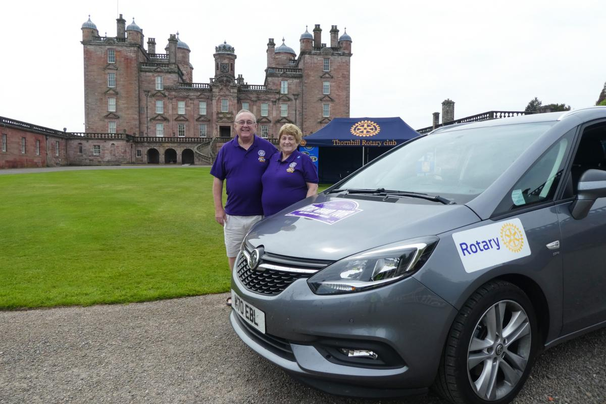 Rotary Purple4Polio Motor Tour of Britain. - RCWestAshfield-1070650
