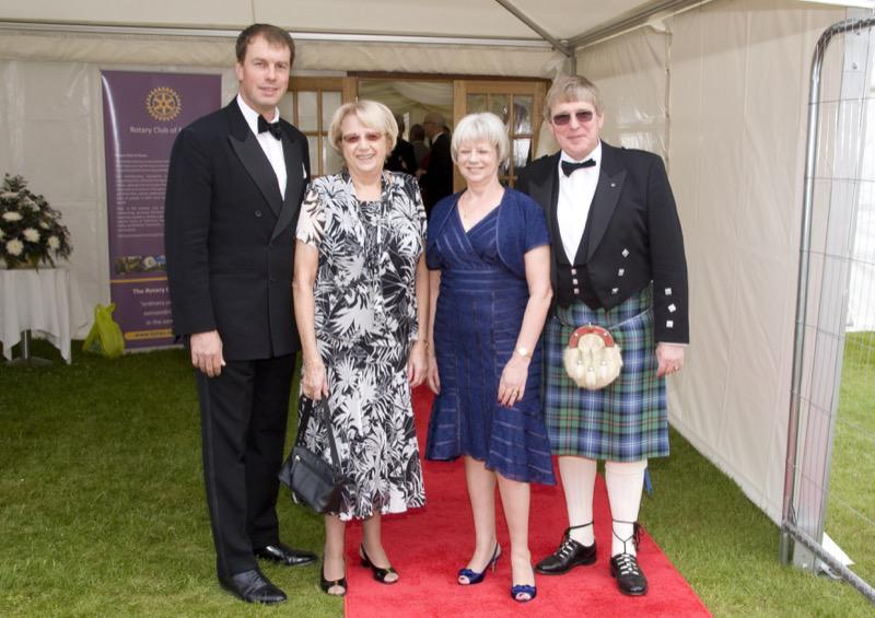 Forres Rotary Dinner 27 June 2014 - RD31