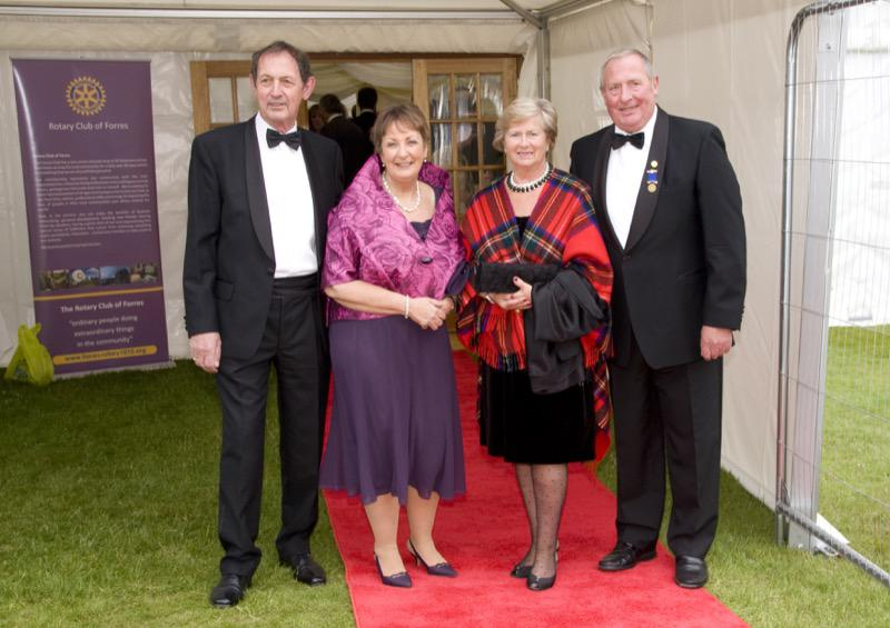 Forres Rotary Dinner 27 June 2014 - RD47