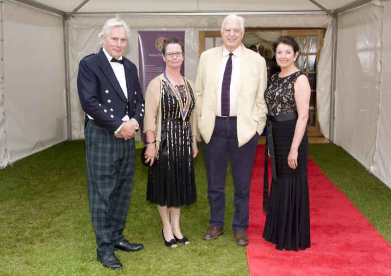 Forres Rotary Dinner 27 June 2014 - RD58