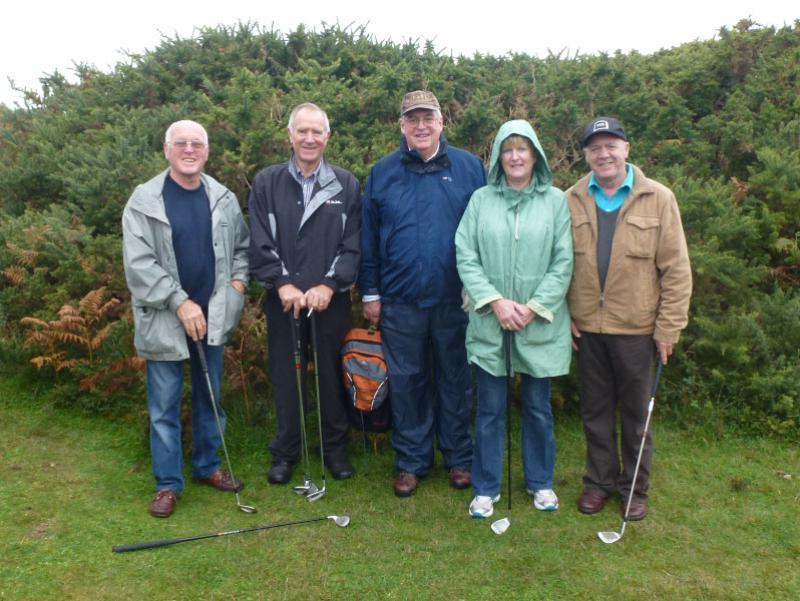 Rotary Rough Golf Weekend in Herm (18 - 20 October 2013) - Team 2