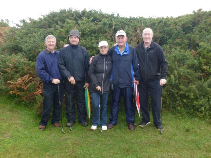 Rotary Rough Golf Weekend in Herm (18 - 20 October 2013) - Team 3