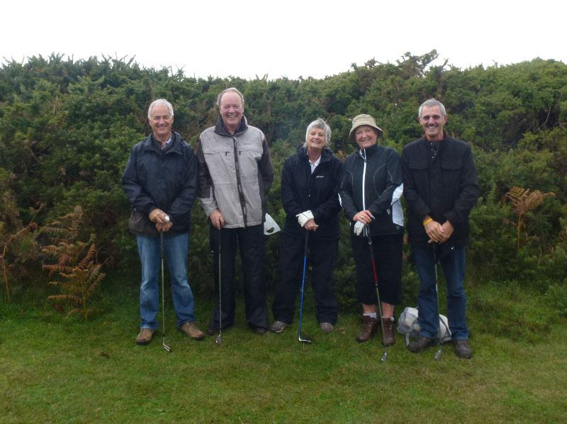 Rotary Rough Golf Weekend in Herm (18 - 20 October 2013) - Team 5