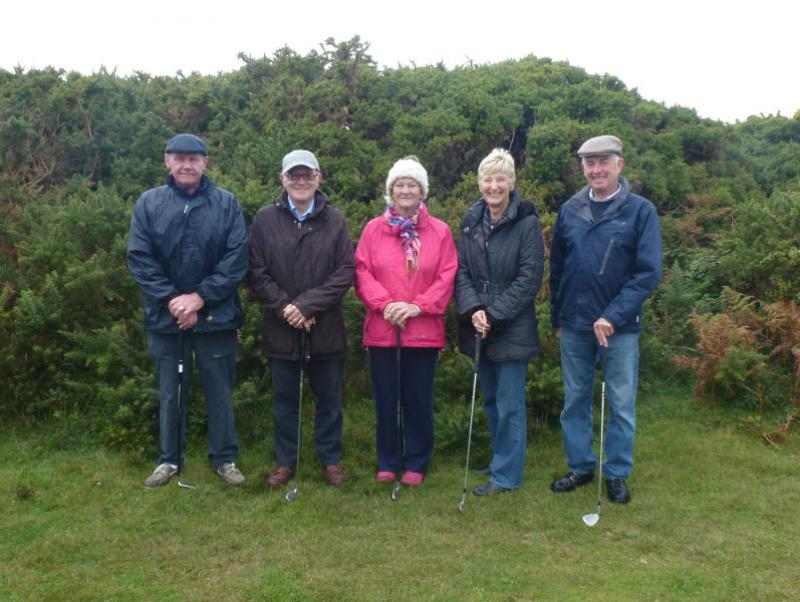 Rotary Rough Golf Weekend in Herm (18 - 20 October 2013) - Team 4