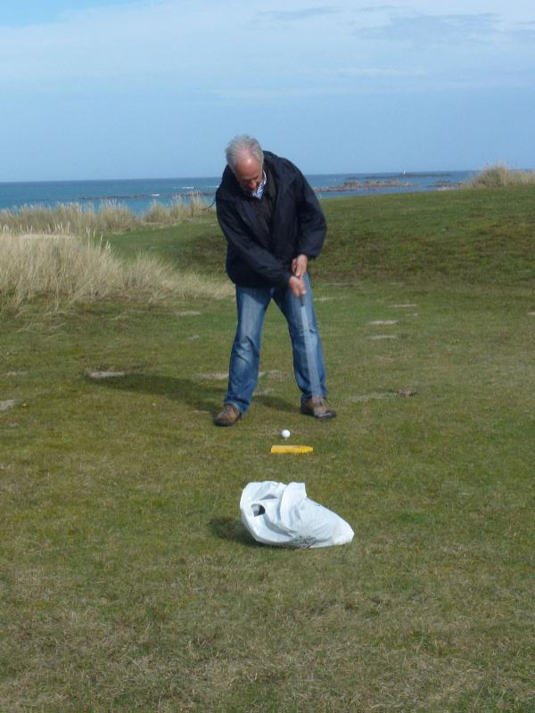 Rotary Rough Golf Weekend in Herm (18 - 20 October 2013) - I am sure you should have hit the ball Tony