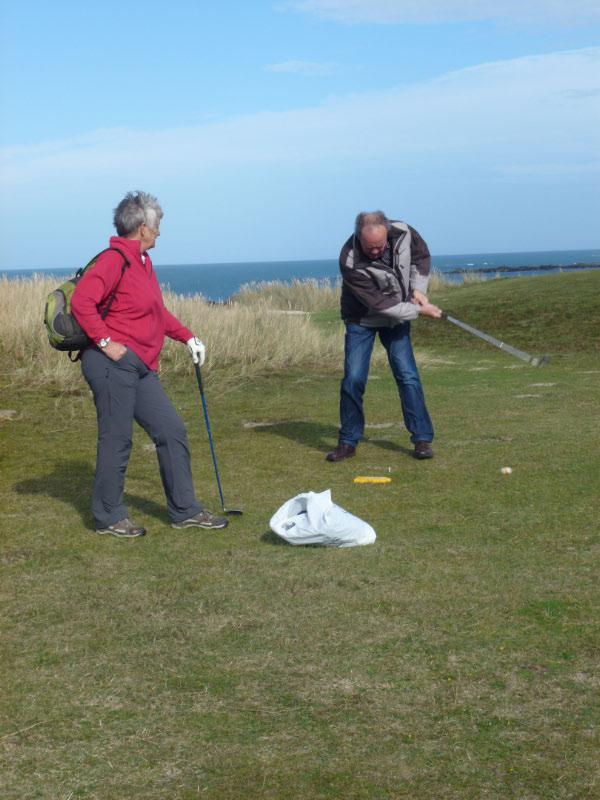 Rotary Rough Golf Weekend in Herm (18 - 20 October 2013) - Nice style Dave