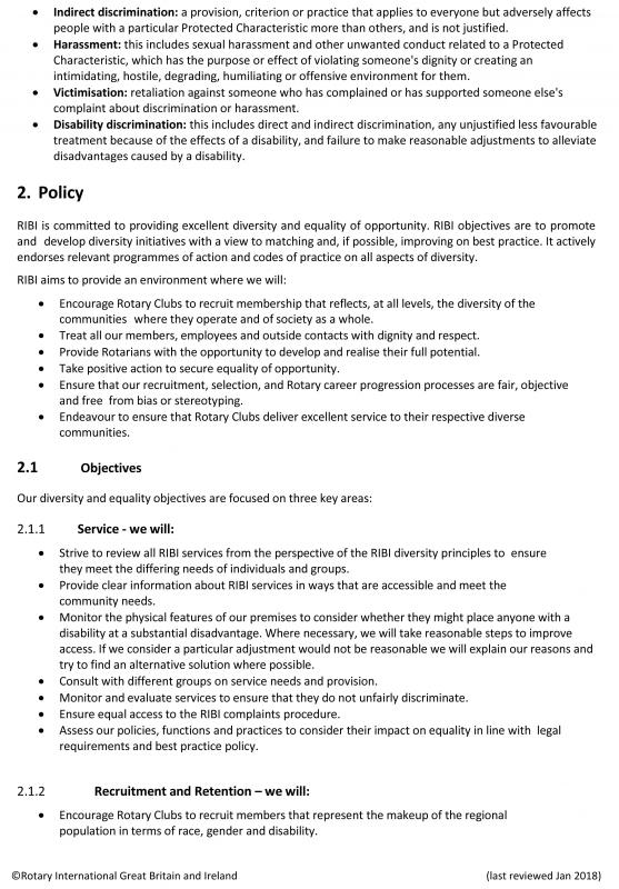 Equality and Diversity policy - RIBI-Eand-D-Policy2