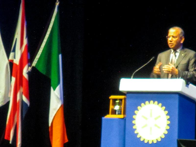 Rotary in Great Britain and Ireland Conference - Ravi Ravindran