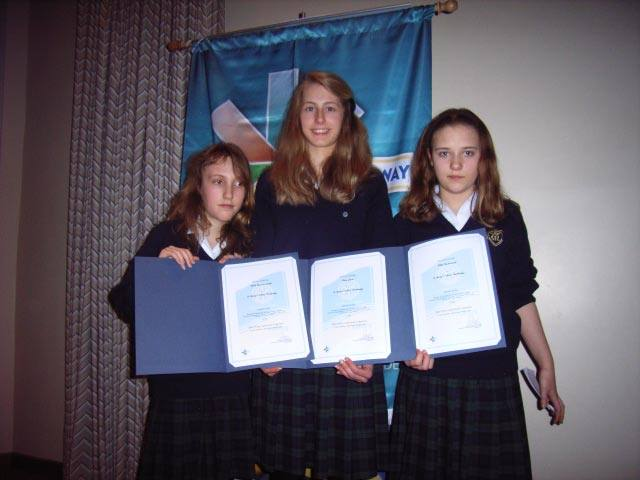 Youth Speaks - St Mary's Cambridge representing South Cambridge and D1080 at 2006-07 Regional final