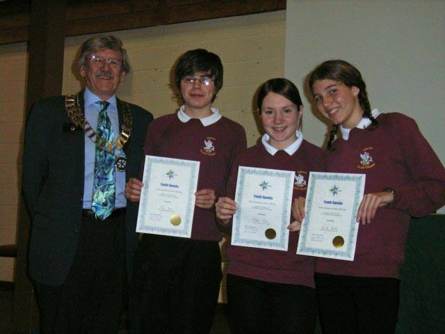 Youth Speaks - Sawston VC winners of D 1080 senior 2007