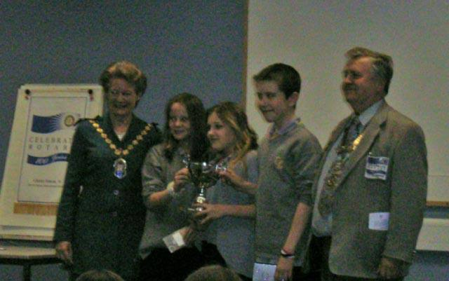 Youth Speaks - Comberton VC at Regional final 2005