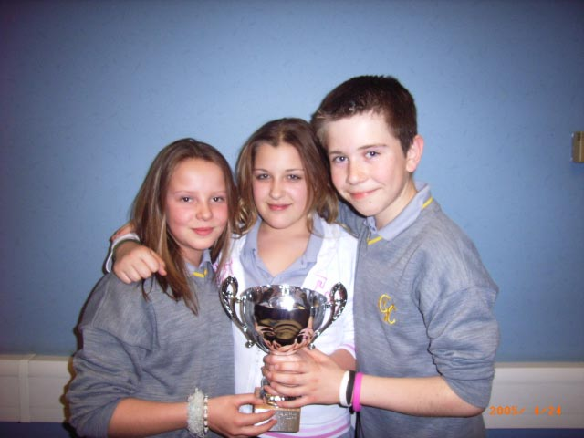 Youth Speaks - Comberton VC team after winning 2005 regional final