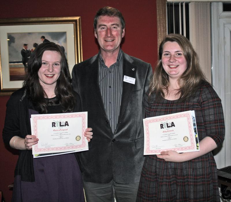 RYLA girls from Beeslack School - RLYA 2