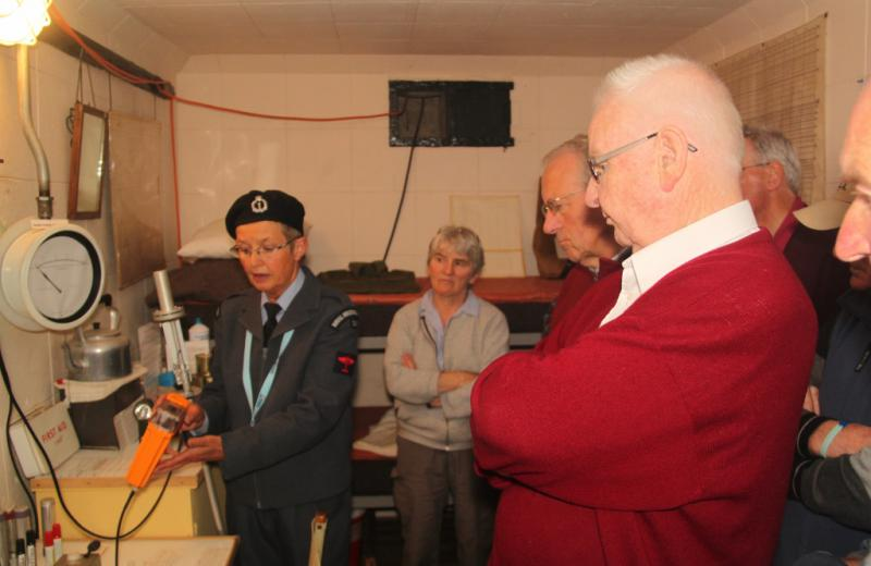 Club Photo Gallery pre July 2015 - Members visit the Cold War Bunker at Elliot in August 2014