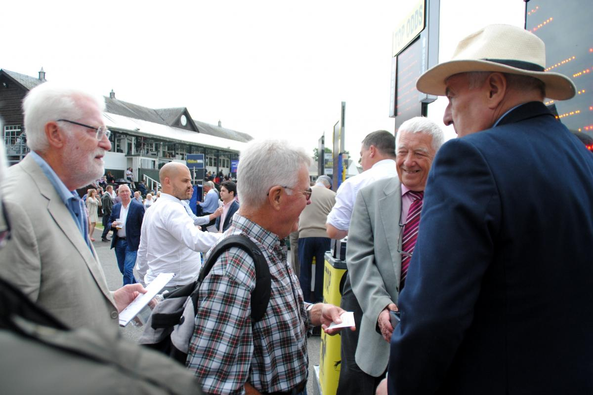 Rotary at the Races - another winner is paid out