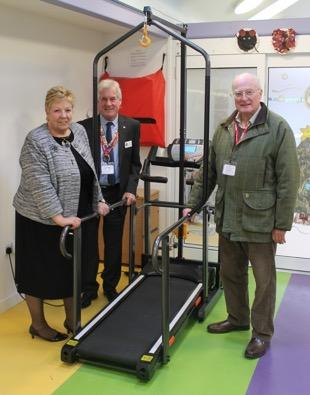 Preston Amounderness Rotary Club donates £1,900 to Rainbow House - Some of the equipment that RCPA has funded at Rainbow House