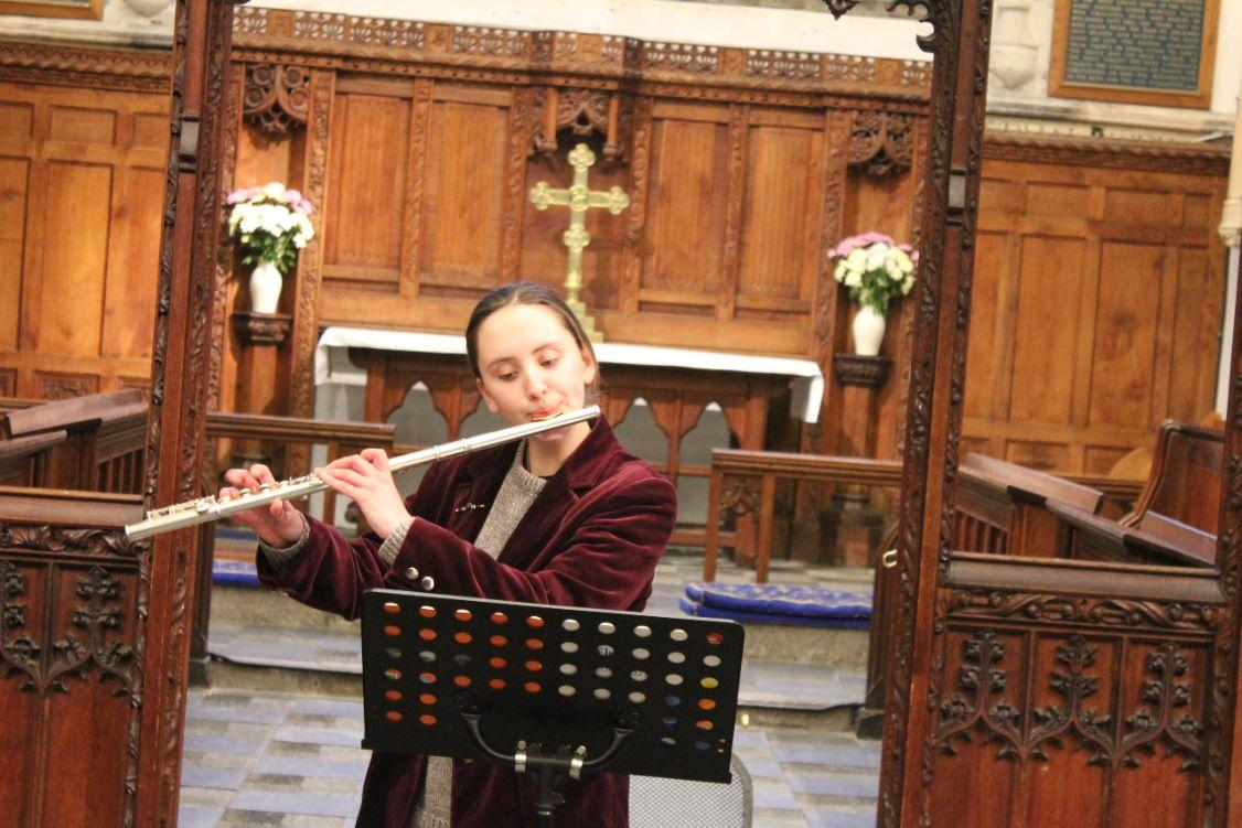 District Young Musicians Final - Rebecca Miskovic, Great Torrington School, flute
