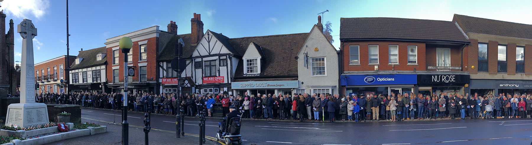 Remembrance Day 2018 - In the High Street