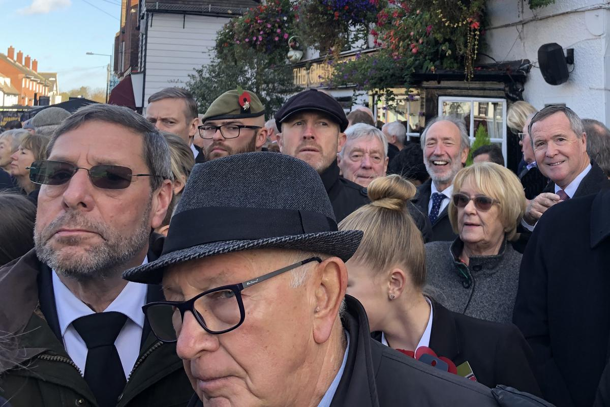 Remembrance Day 2018 - Malcolm Keith Mike and Patrick