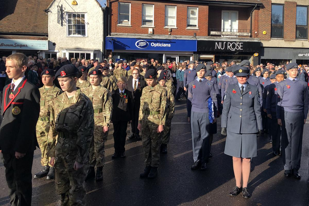 Remembrance Day 2018 - Air Force too