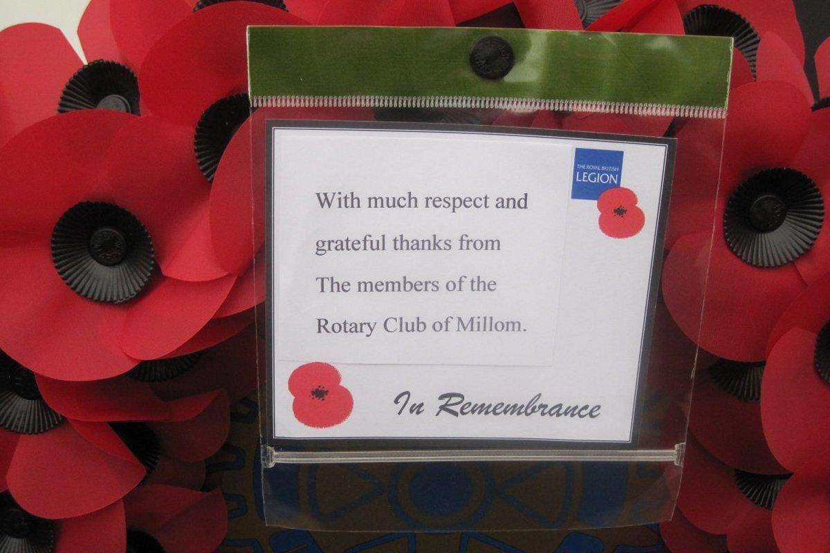 About Us - Rotary and Remembrance Day in Millom