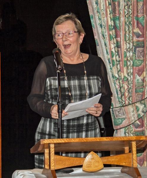 Burns Night at the Rotary - Liz Anderson