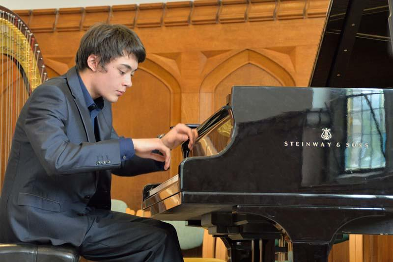 Robert wins RIBI Young Musician!   - followed by 'The Cat and the Mouse' by Aaron Copland