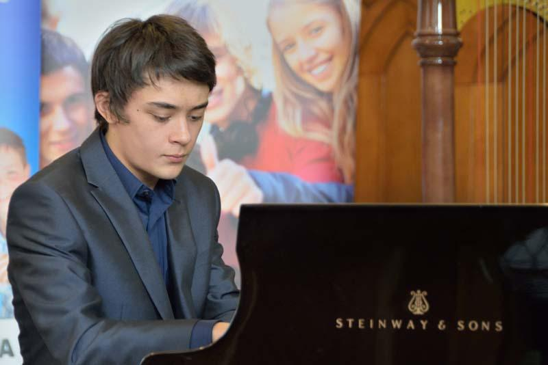 Robert wins RIBI Young Musician!   - His choice of music was Liszt's 'Liebestraum'