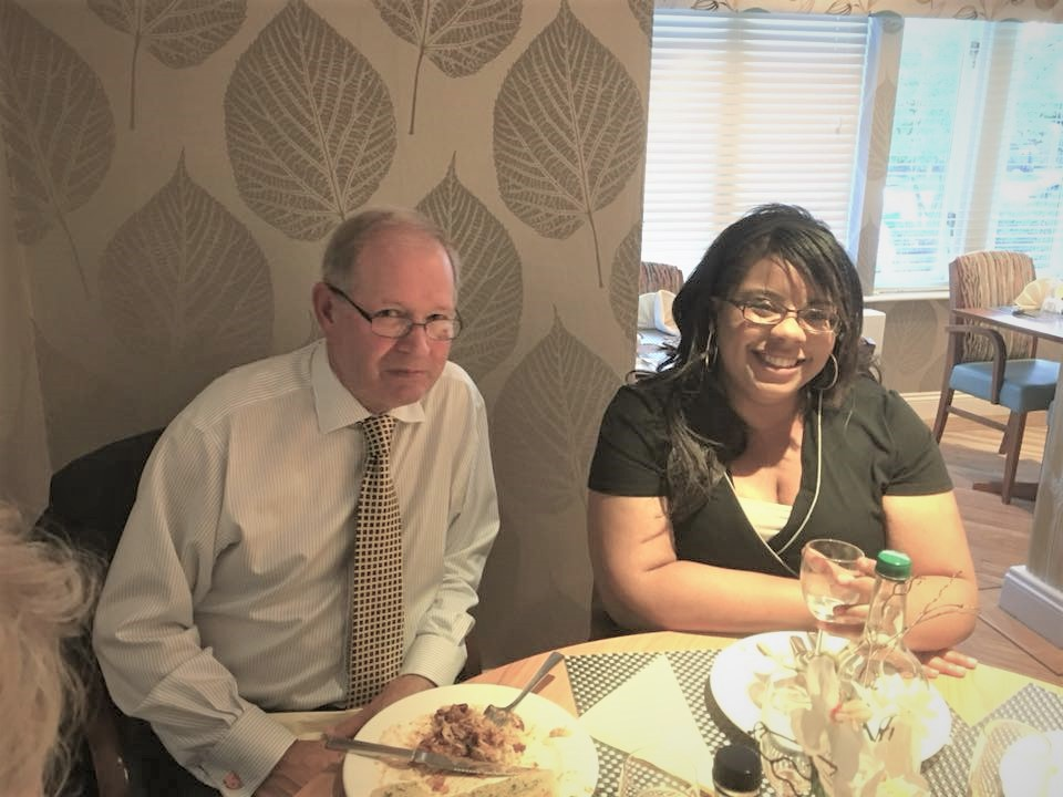 Chartering of Wych-Malbank Nantwich Rotary Club - Rod Stokes and Chantelle Apilats