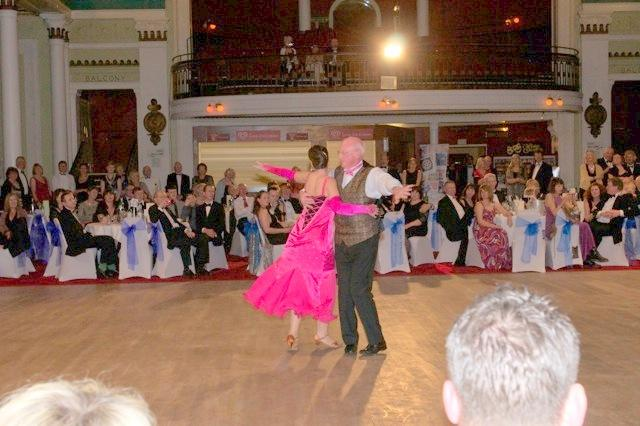 Strictly Come Rotary Dance Competition - Roger Binks and Maureen Reid dancing the Waltz