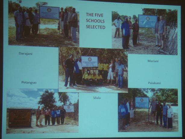 Rotary Clubs of Eynsham and Kilifi's Project on Water Sanitation in  Kenya -