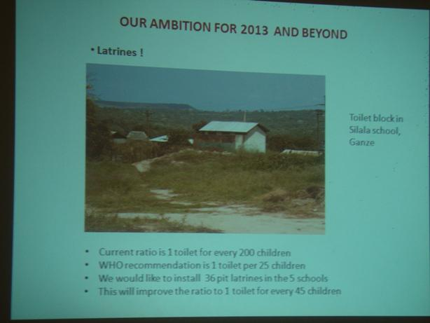 Rotary Clubs of Eynsham and Kilifi's Project on Water Sanitation in  Kenya - 1 toilet for every 45 children.