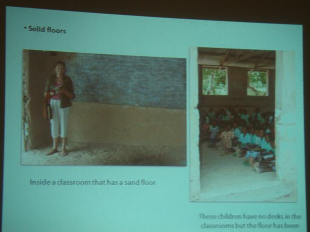 Rotary Clubs of Eynsham and Kilifi's Project on Water Sanitation in  Kenya - Instead the children are sitting on the sand floors.