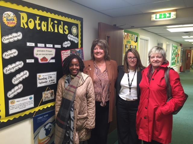 International Activities - Pass it on Trust Uganda was visiting Symington Primary School to discuss with the School and Rotary representatives of Rotakids possible international projects which would be very exciting and fulfilling.